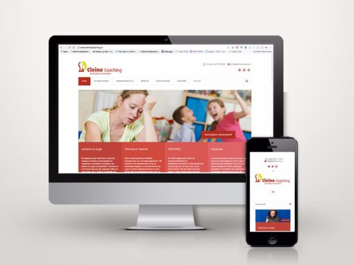 Cleine Coaching responsive website